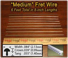 Cigar Box Guitar Fretting Kit: Medium Fret wire + Fretting Guide on CD 12-02-01