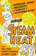 Steam Heat - 1963 - Movie Poster
