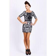 SEDUCE - Rumba Dress Black/White size 8 *CLEARANCE* BNWT