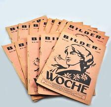 Bilder-Woche Jahrgang 1927 (Heft auswählen) Versicherungszeitschrift (Büche)