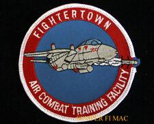 FIGHTERTOWN AIR COMBAT PATCH TOPGUN F-14 TOMCAT USS PIN UP PILOT CREW WING  WOW