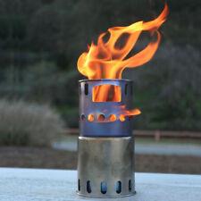TOAKS STV-11 Titanium Backpacking Wood Burning Stove