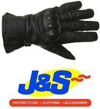 BKS CRUISER WP Joint cuir moto Gants imperméable Gants Noir J&S