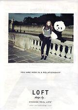 PUBLICITE ADVERTISING 2010  LOFT  pret à porter chaussures design by...