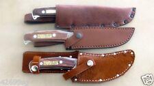 Skinner Messer,Fahrtenmesser, Jagdmesser Gürtelmesser mit Scheide