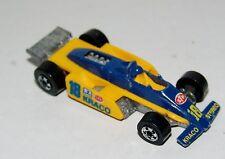 Hot Wheels Thunderstreak Indy Racer - Metal Base Yellow Interior - Malaysia 1988