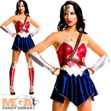 Mujer Maravilla Damas Vestido Elaborado amanecer de la justicia Superhéroe Película Disfraz Adultos