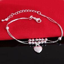 925 European sterling NEW silver bracelet Bracciali bangle chains Jewelry gift
