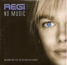 REGI - no music CD SINGLE 3TR eurodance MILK INC. 2005