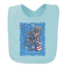Classic Rockers Dogs Rocking Chair USA Flag Baby Bib