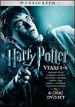 Harry Potter: Years 1-6 (DVD, 2009, 6-Disc Set, Widescreen)