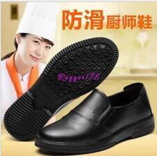 Korean Mens Non-slip waterproof chef Wear resistant working shoes