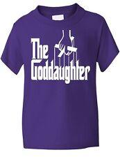 La ahijada Dios Padres Bautizo Regalo Funny Girls Camiseta edad 1-13