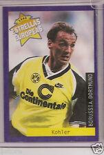 Rare '96 Panini Germany Borussia Dortmund EUROPEAN ALL STAR PLAYER Jürgen Kohler
