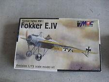 MAC Czech Republic German Fokker E.IV Airplane Model Kit 1:72 Scale MIB
