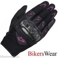 Alpinestars Stella SMX-2 AIR CARBON Black / Fushia Short Womens Gloves cheapest