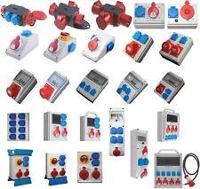 Stromverteiler Baustromverteiler CEE Kraftstrom Strom Verteiler Ihrer Wahl