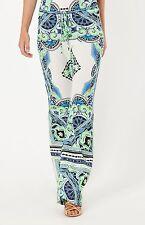 Hale Bob Casual Drawstring Pants | Multi Print Summer XS NWT 5ZDE8243