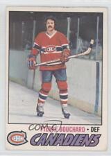 1977-78 O-Pee-Chee #20 Pierre Bouchard Montreal Canadiens Hockey Card