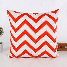 Canvas Pillows Case Modern Geometric Cushion Cover Home Decor Pillowcase 45*45cm