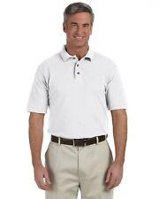 Harriton Mens 6 oz. Ringspun Cotton Pique Short-Sleeve Polo M200 Size S-6XL