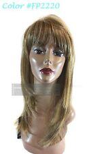 Junee Fashion Manhattan Style Premium Blend Hair Straight Hand Tied Muse Wig