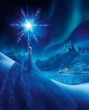FROZEN SNOW ELSA DISNEY MOVIE POSTER FILM A4 A3 ART PRINT CINEMA