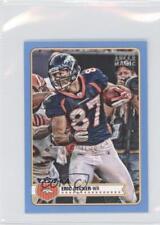 2012 Topps Magic Mini Blue #209 Eric Decker Denver Broncos Football Card