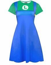 Super Mario Luigi Costume Dress
