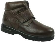 Drew Big Easy - Dark Brown Mens Hi-top Strap Shoe - 44859