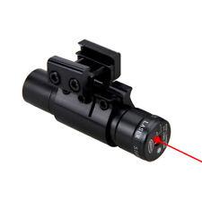 Pistola Pistola 650nm Red Dot Laser Beam fit 11/20mm Rail Pistol Mount para caza