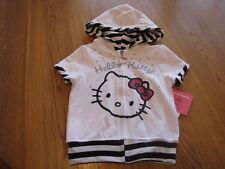 Hello Kitty girls hoodie HK54184 White 6X NWT ^^