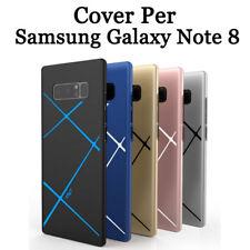 Cover custodia case PER Samsung Galaxy Note 8 Rigido COPERTURA Bordo Vari colori