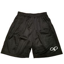 Infinity Bow symbol Men Athletic Jersey 2 pocket Mesh Basketball Shorts M-5XL