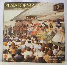 """33T PLATAFORMA Vinyl LP 12"""" SHOW DE BRASIL Brésiliennes Seins Nue KELO MUSIC1009"""