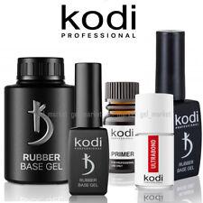 Kodi Professional Base Top Rubber No Sticky Matte Ultrabond GEL 8, 12, 14, 35ml