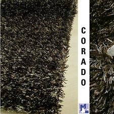 SOLDES! dekowe Corado poils longs Shaggy 50 Marron Tapis Polyester / RAYON