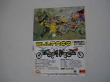 advertising Pubblicità 1978 BULTACO FRONTERA/PURSANG MK