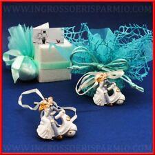 Couples de lune de miel vespa pendentif cintre faveurs de mariage marque-place