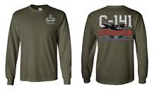 "US Army Master Parachutist  ""C-141"" Long-Sleeve Cotton Shirt - 8452"
