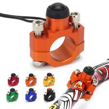 Universal CNC Start Stop Kill Switch Button Rotating Bar Clamp 22mm Handlebar