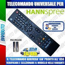 TELECOMANDO UNIVERSAL HANNSPREE CLICCA IL TUO MODELLO LO RICEVERAI GIÀ PRONTO