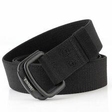 Men's Canvas Belts Metal Insert Buckle Nylon Training Fashion Tactical Straps