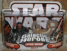 Star Wars Galactic Heroes DARTH MAUL & SITH SPEEDER '07