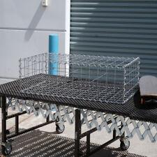Gabion Cage 978mm L x 528mm W x 300mm H, 75x75mm, AL-TEN Garden Bench, Edging