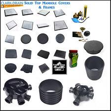 Clark Drain Manhole Covers 300x300 450x450 600x450 600x600 Solid Top Galv Flush