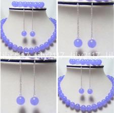 Necklace Bracelet Earrings Y22358 6mm/8mm/10mm Alexandrite Gems Round Beads
