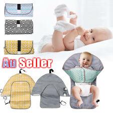 Travel Home Change Pad Baby Diaper 3-in-1 Organizer Bag Changing Mat Waterproof