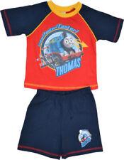 Boys Kids Thomas The Tank Engine Faster! Short Pyjamas Sleepwear Nightwear