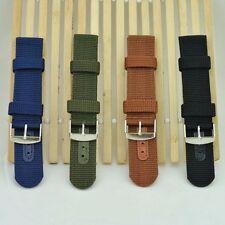 18mm 20mm 22mm 24mm Sporting Nylon Watchbands Watch Straps Wristwatch Bands